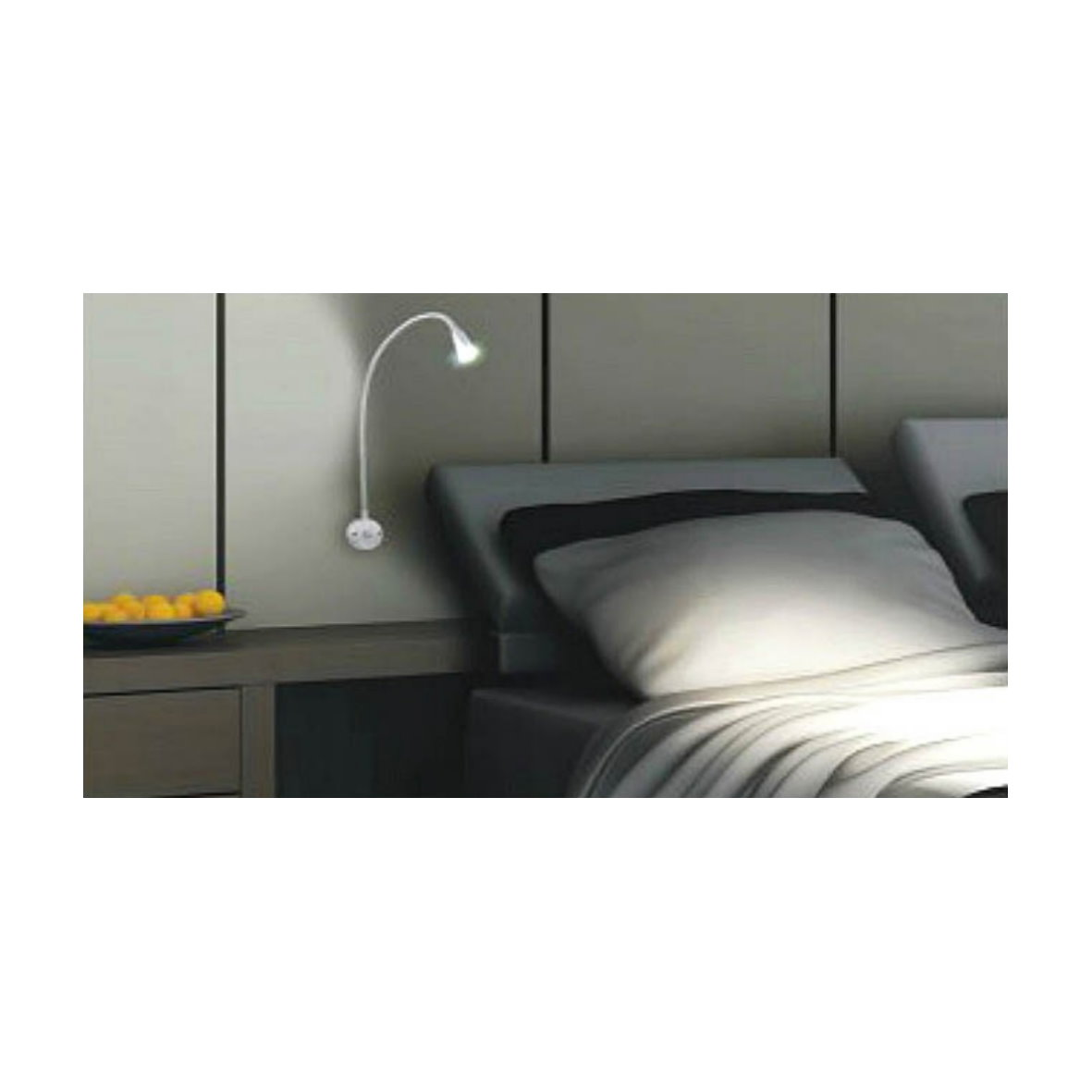 wandleuchte led schwanenhals inspirierendes design f r wohnm bel. Black Bedroom Furniture Sets. Home Design Ideas