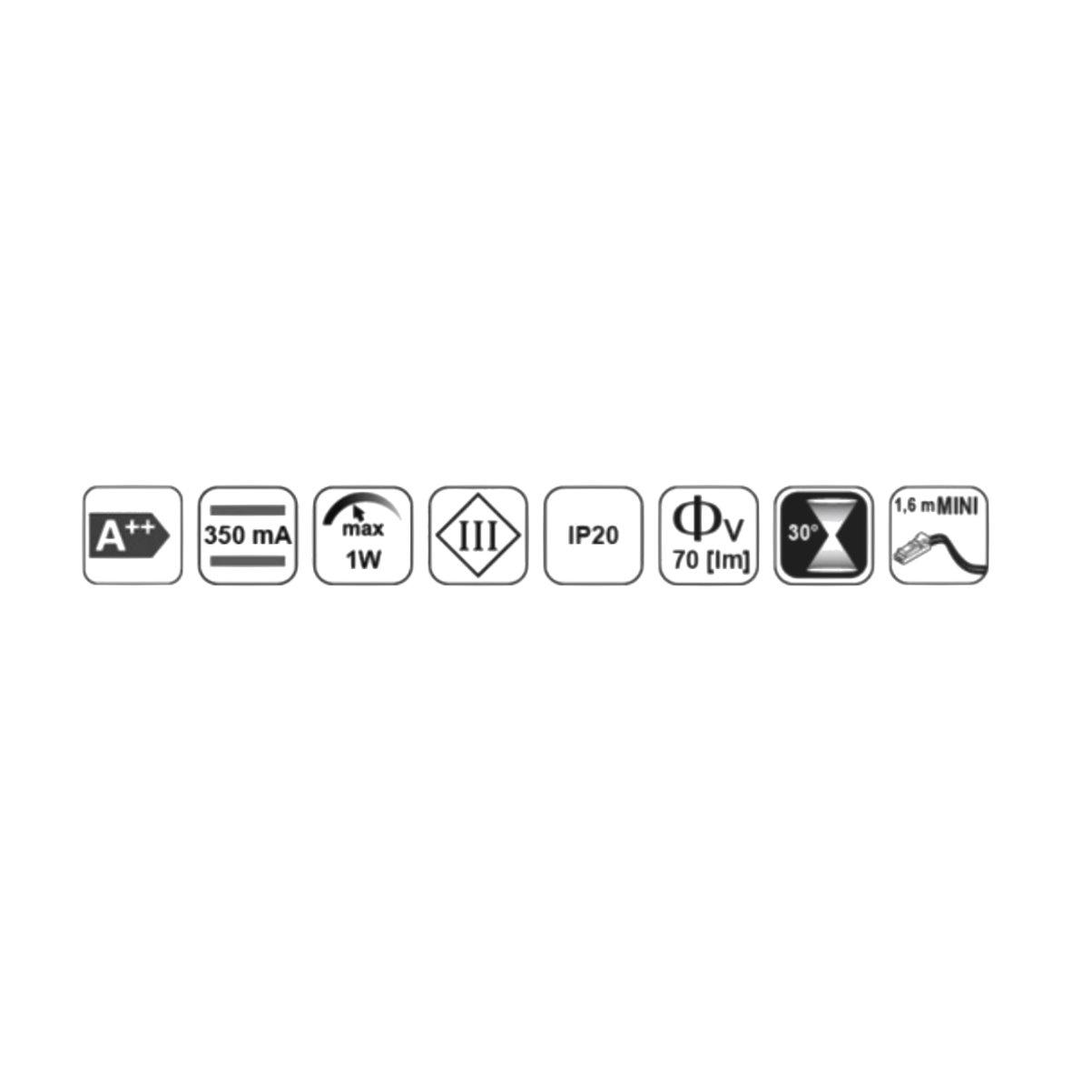 Led aluminium leseleuchte mit netzstecker for Design artikel shop