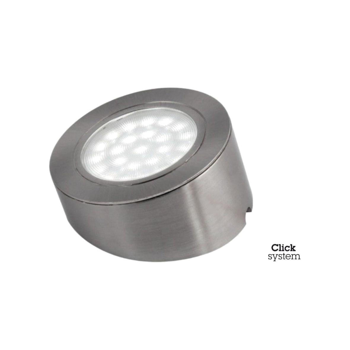LED Spot Master Leuchte Touch Alu Möbel Küche Aufbau Unterbau ...