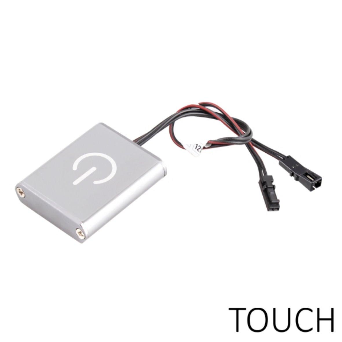 aufbau mini touch dimmer touchdimmer schalter 12v f r led lampen leuchte ebay. Black Bedroom Furniture Sets. Home Design Ideas