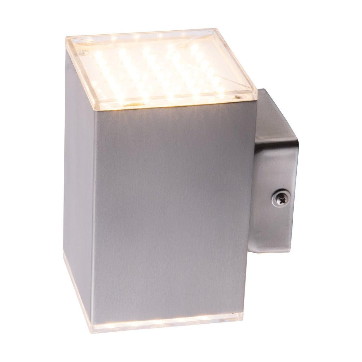 LED SMD Außen Wandleuchte KUBUS Wand Leuchte Strahler Wandlampe ...