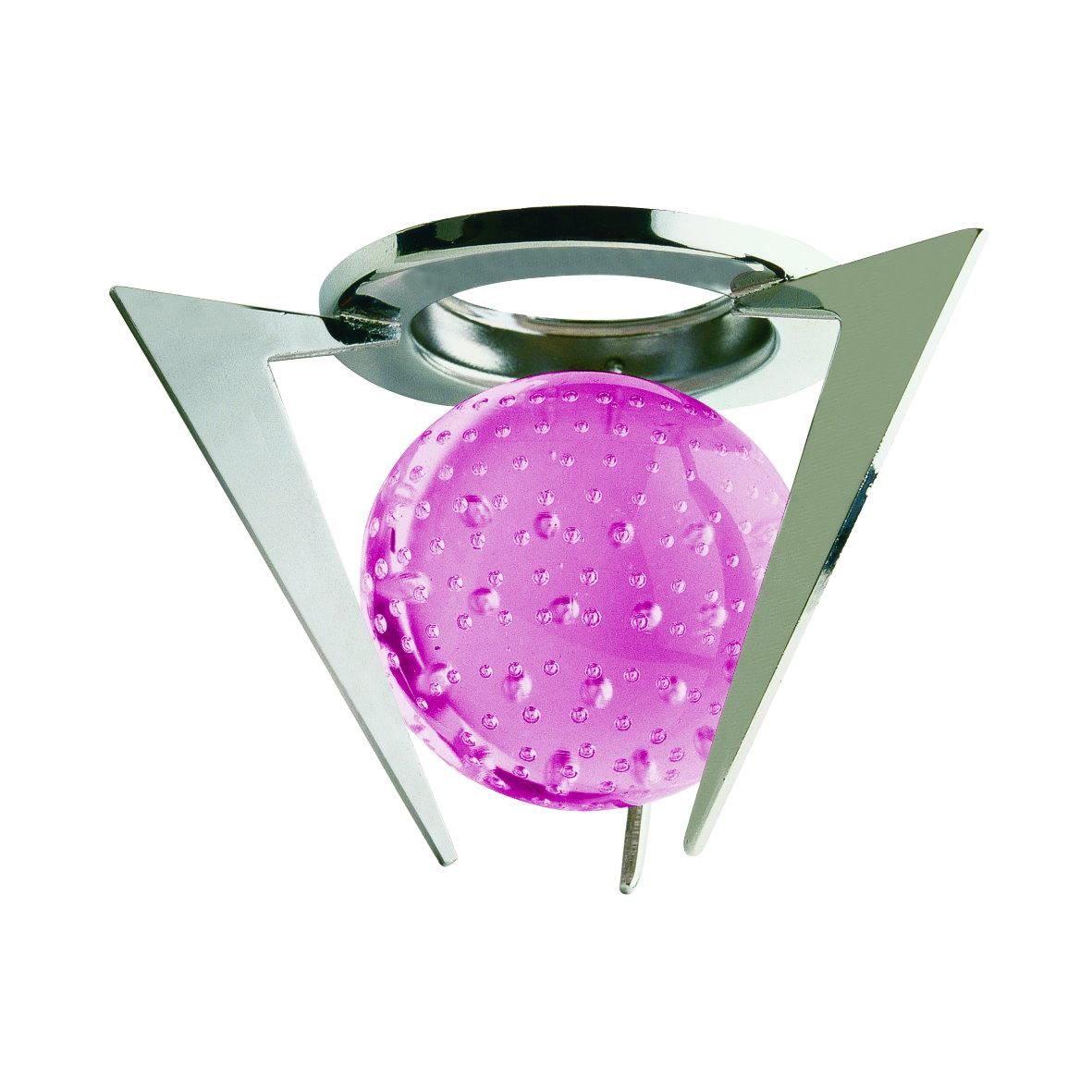 Spot einbaurahmen mr16 einbauspot einbaustrahler kristall for Glas deko bilder