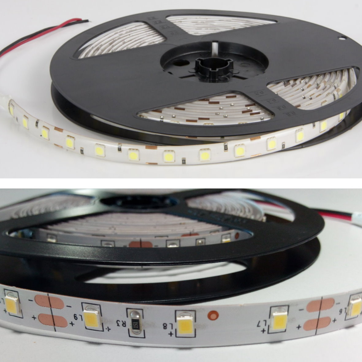 6 98 eur m 5m led lichtband 72w ip65 dimmbar warmwei 300x 5050 aussen stripe. Black Bedroom Furniture Sets. Home Design Ideas