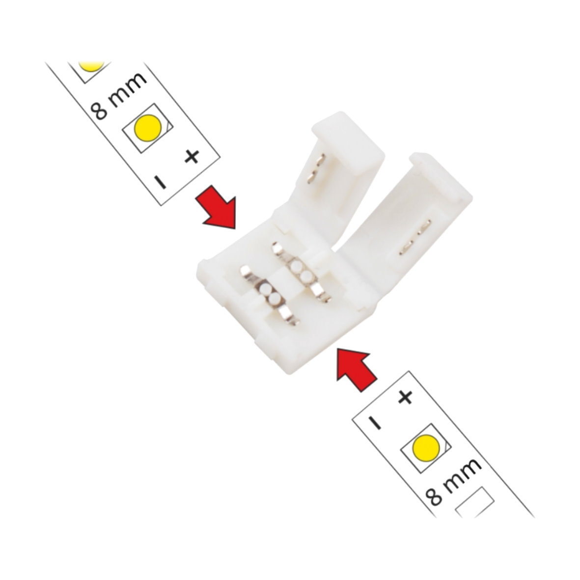 led lichtband adapter premium. Black Bedroom Furniture Sets. Home Design Ideas