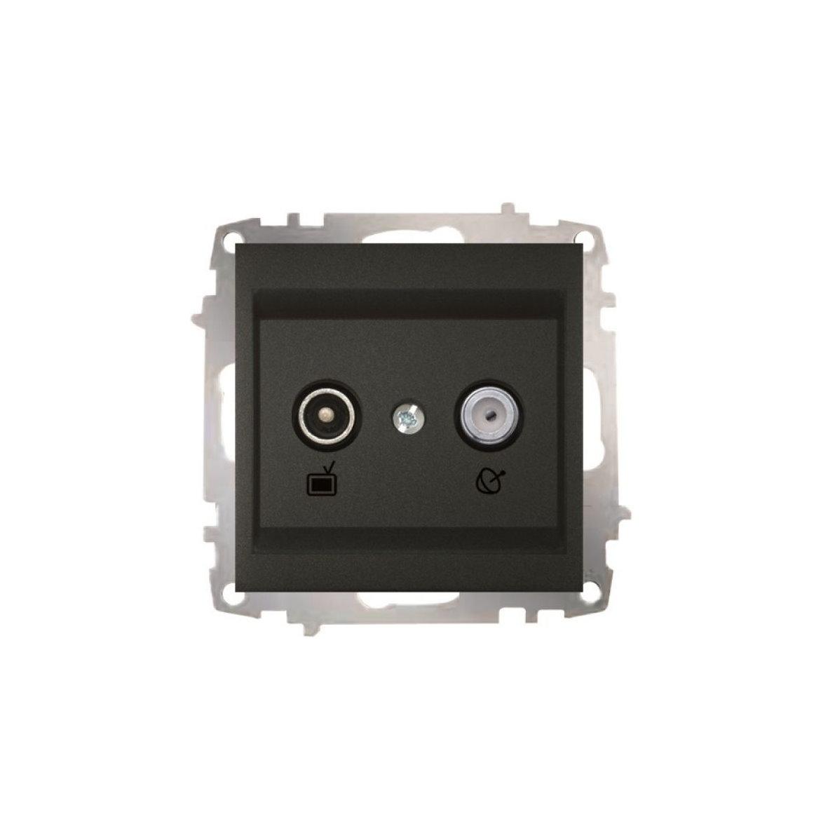 EL-BI Schalter ZENA anthrazit