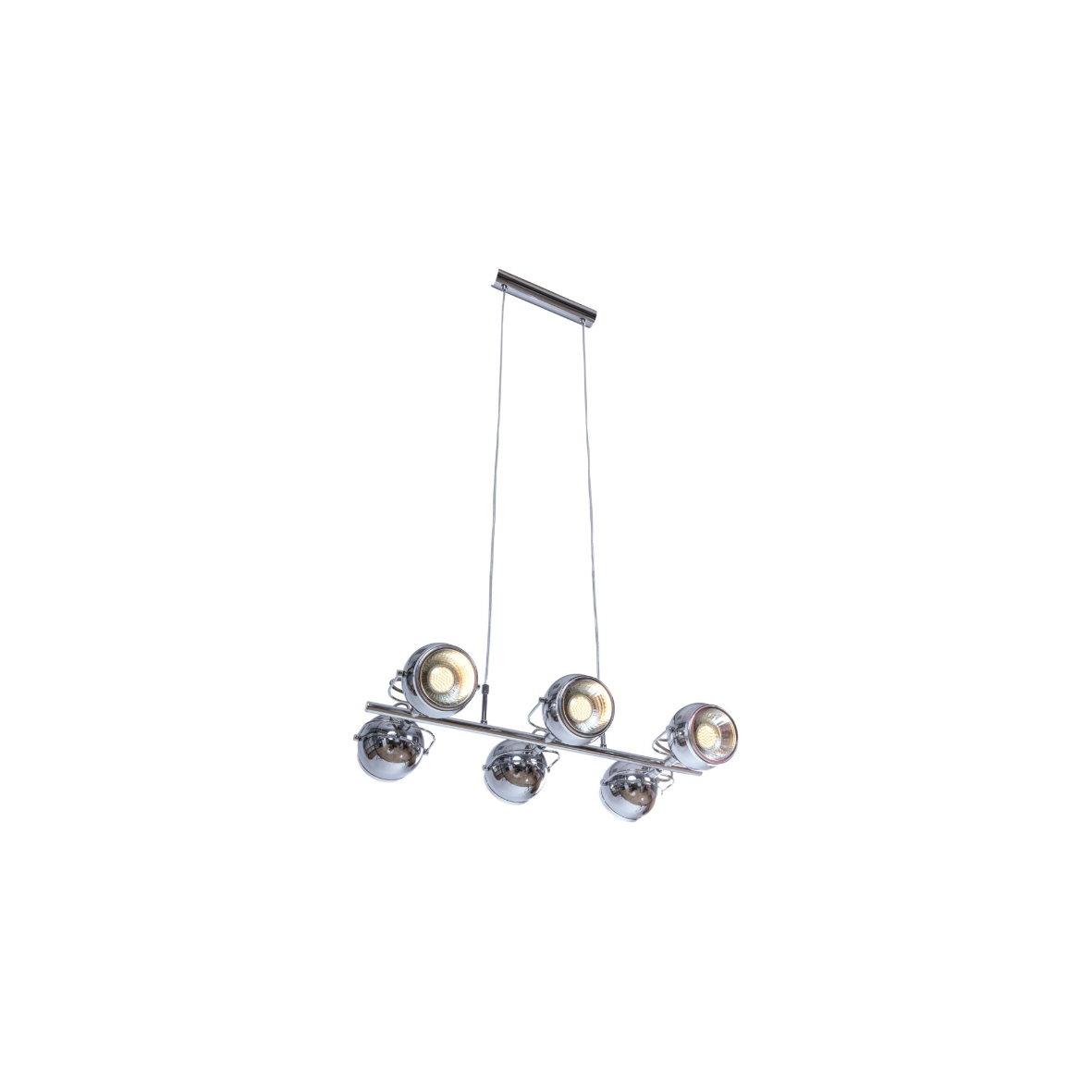 deckenstrahler retro schwarz metall 4x gu10 heitronic 27831 ebay. Black Bedroom Furniture Sets. Home Design Ideas