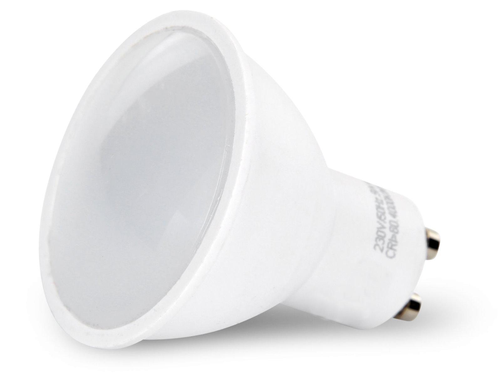 LED Spot GU10 matt - 9W warmweiß