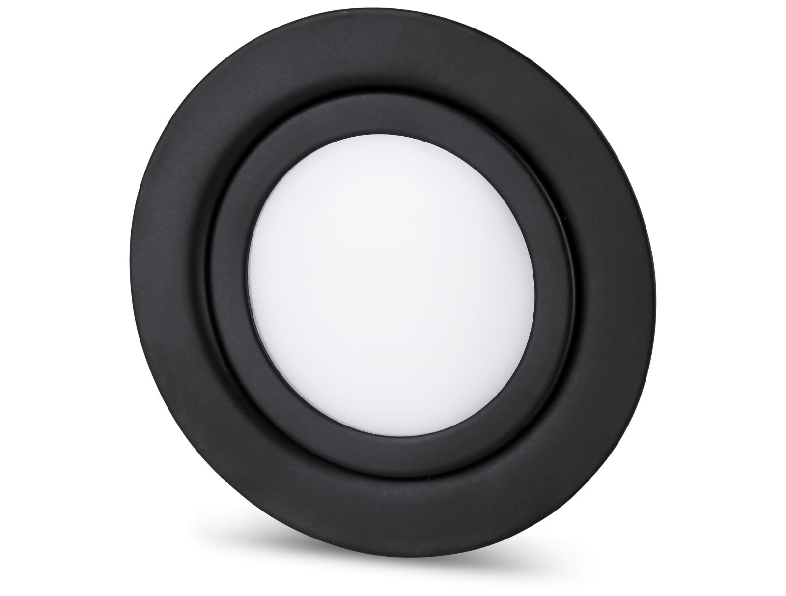 LED Slim Einbaustrahler IP44 12V - 1.8W schwarz-matt