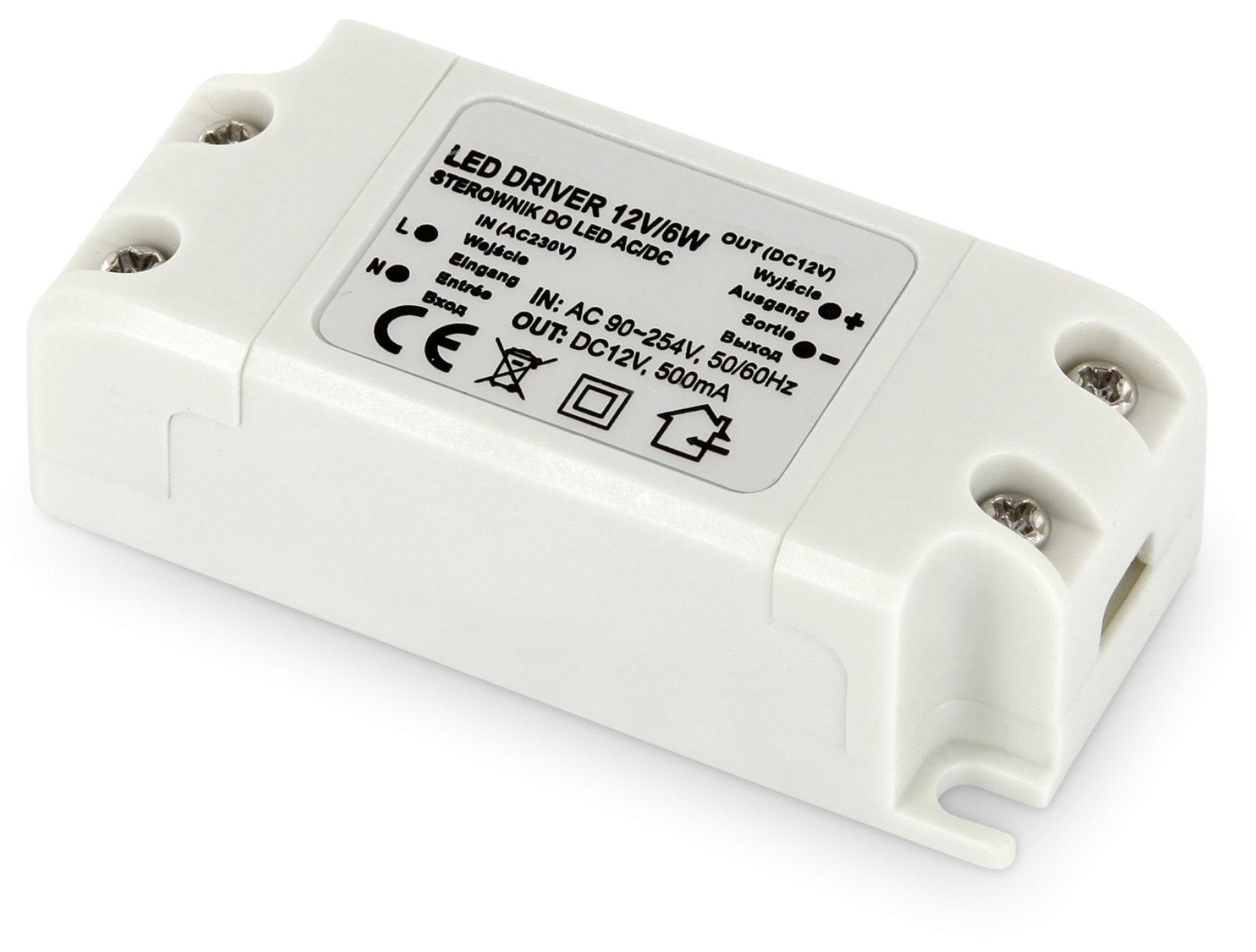 LED Transformator Basic 12V - 6W