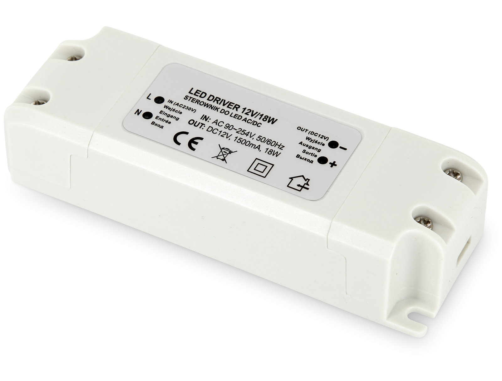 LED Transformator Basic 12V - 18W