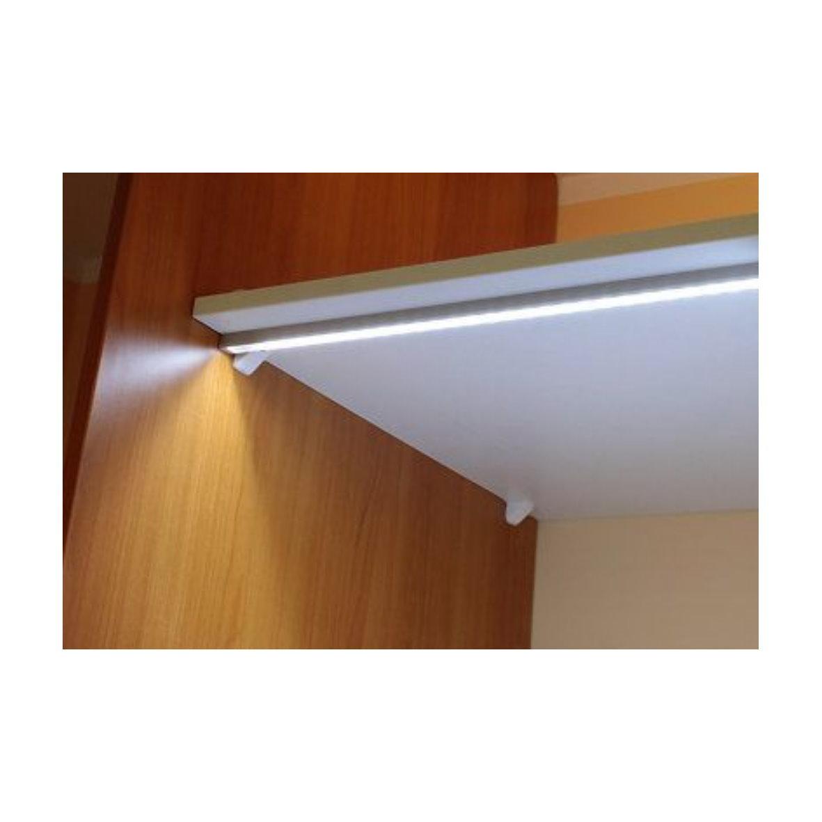 7 45 m einbau profil leiste pvc flexibel biegsam 2m opal f r led stripe ebay. Black Bedroom Furniture Sets. Home Design Ideas