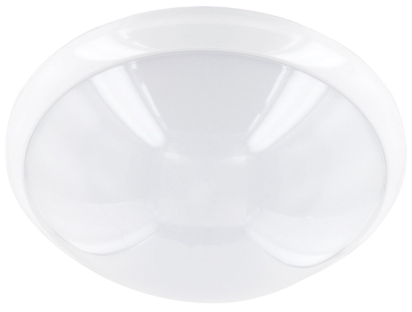 LED Deckenleuchte 16W mit HF Bewegungsmelder 360° IP44 - warmweiß