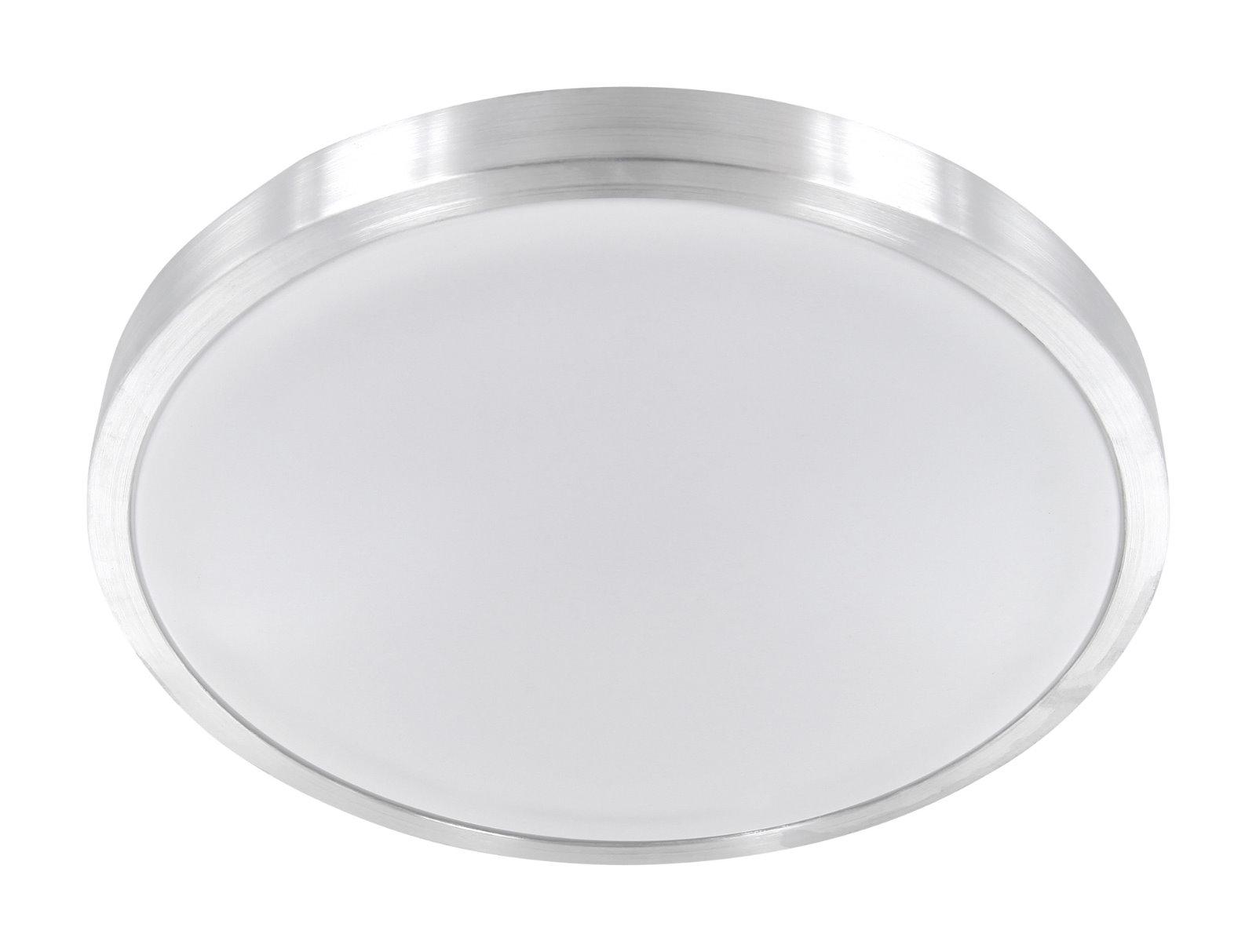 LED Aluminium Deckenleuchte 12W IP44 - warmweiß