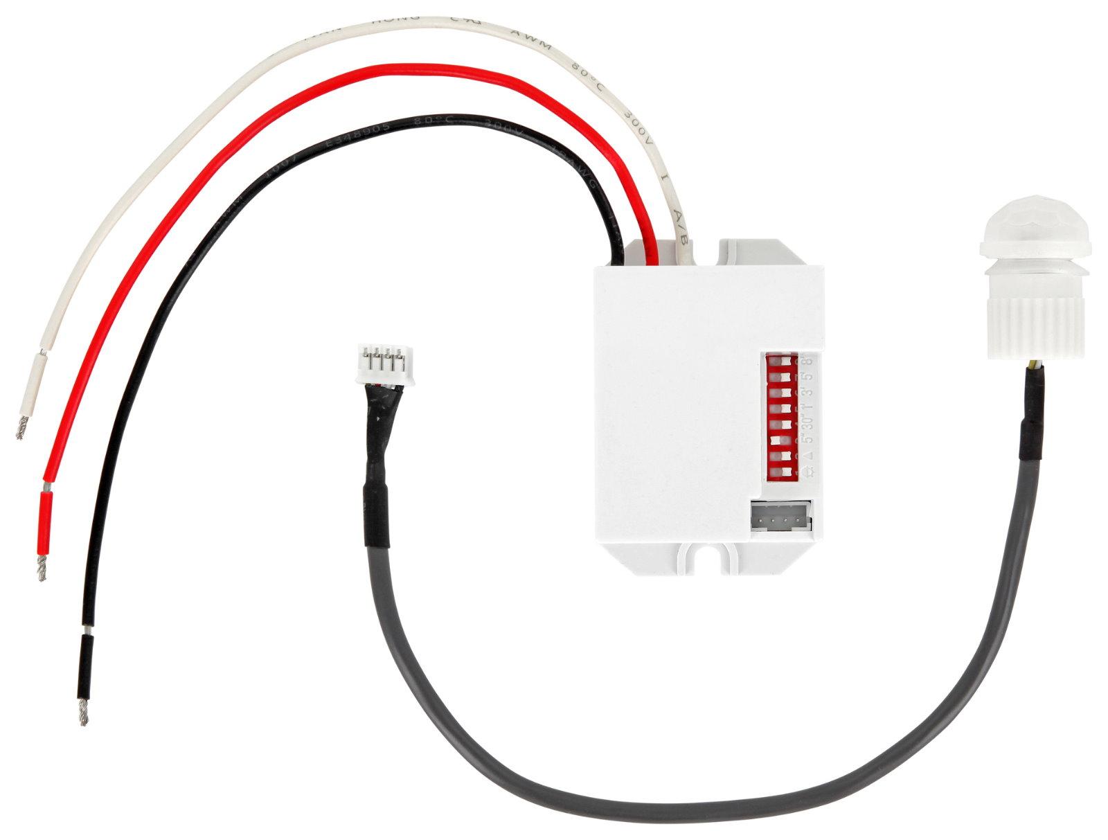Einbau IR Mini Bewegungsmelder 230V - LED geeignet - OR-CR-211