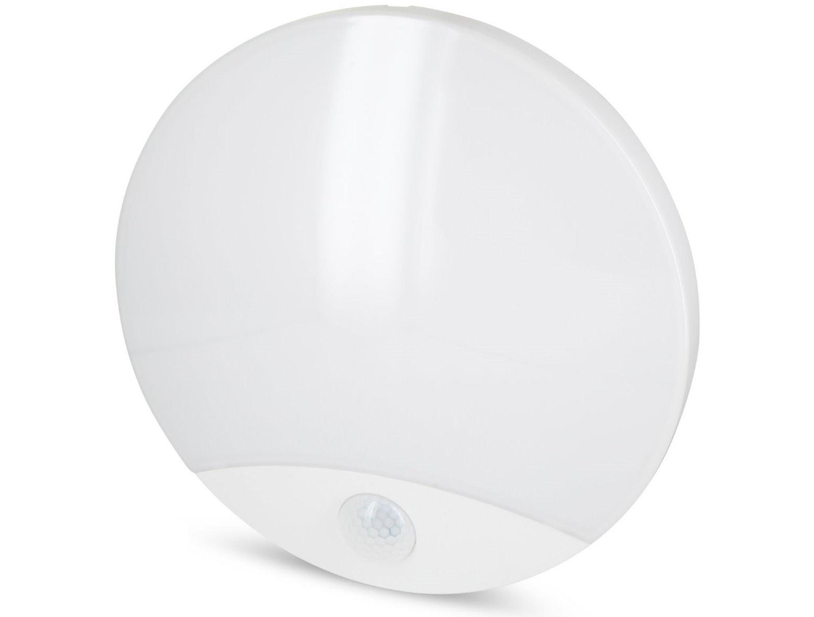 LED Wandleuchte 10W mit Bewegungsmelder 360° IP44