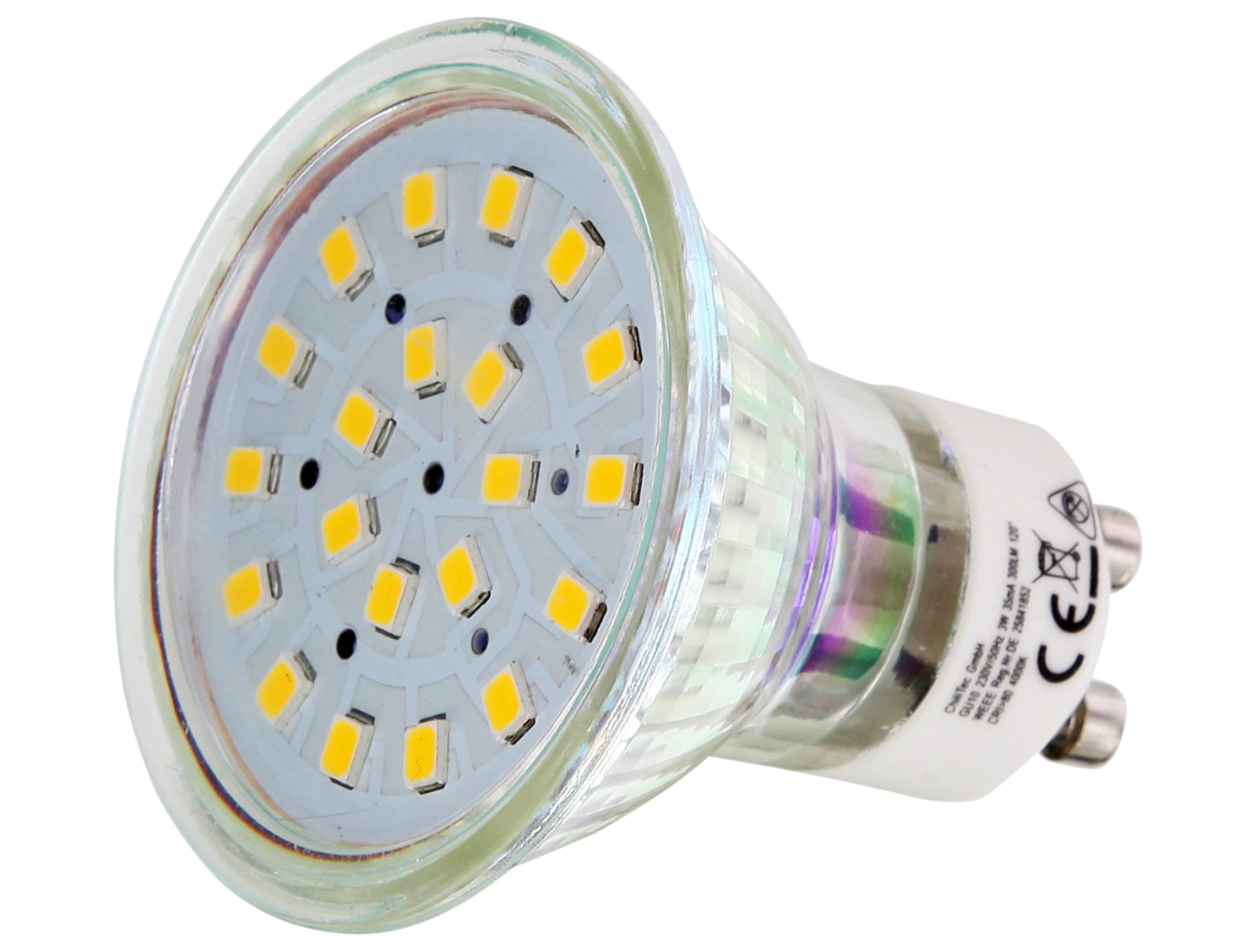 LED Spot GU10 klar - 5W