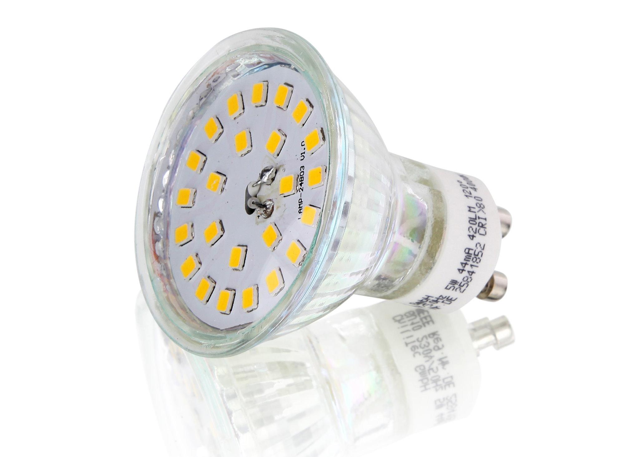 chilitec-GU10-5W Erstaunlich Led Leuchtmittel Gu 10 Dekorationen