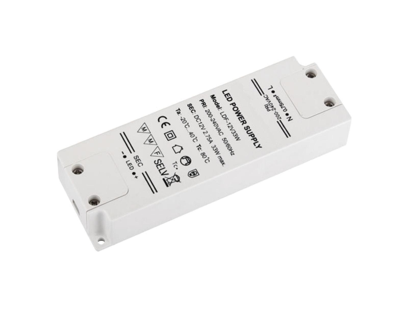 LED Transformator Kompakt 12V - 33W