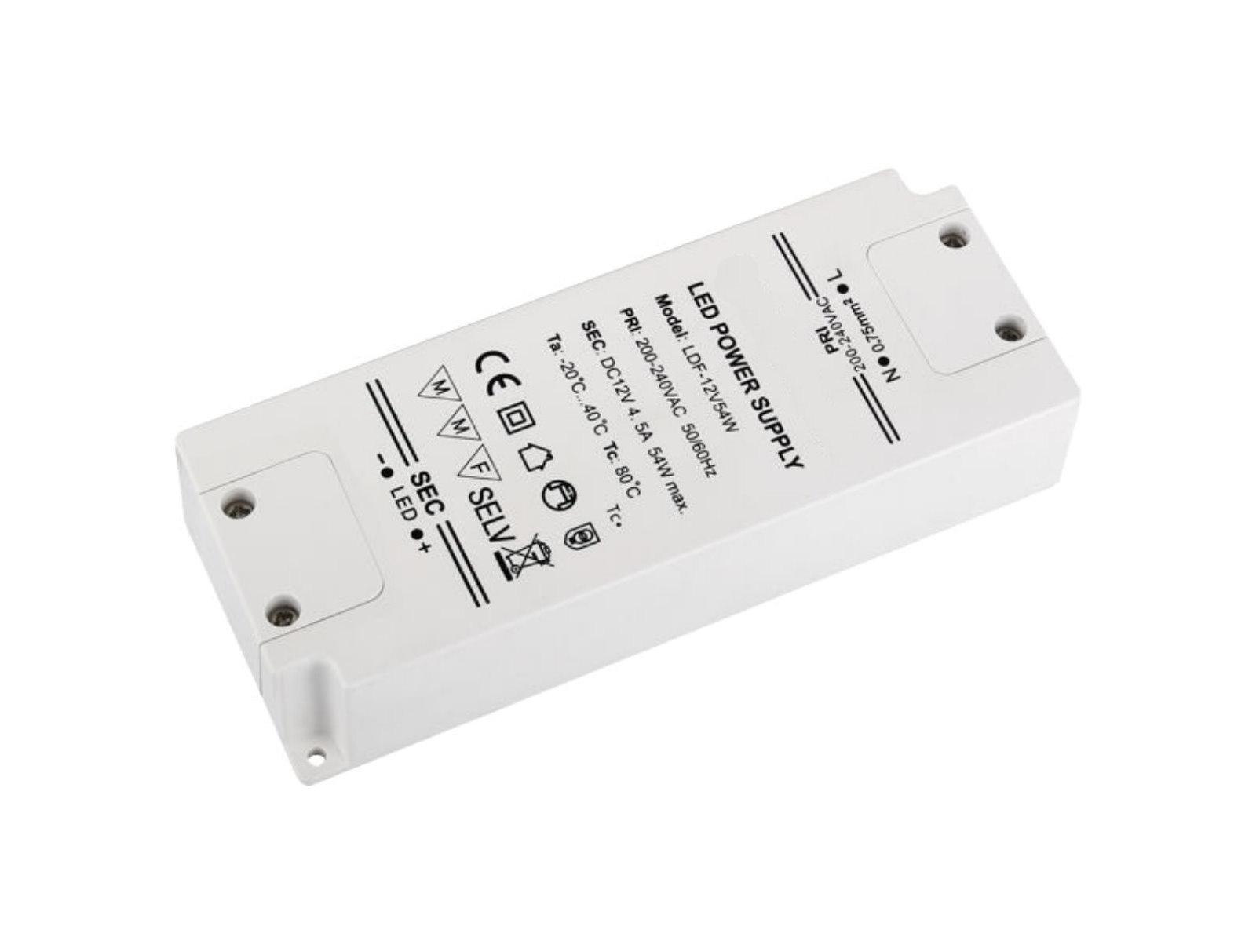 LED Transformator Kompakt 12V - 54W