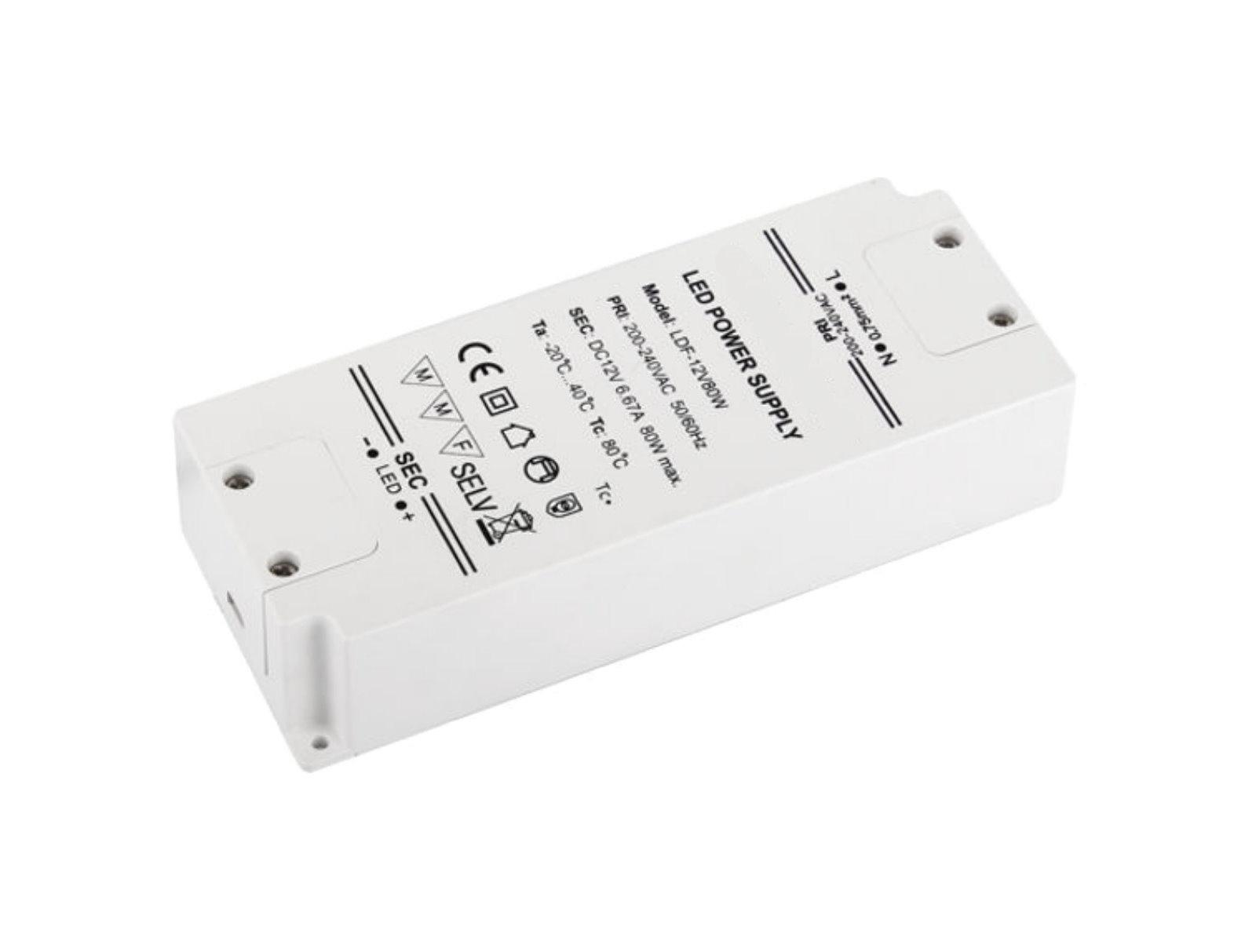 LED Transformator Kompakt 12V - 80W