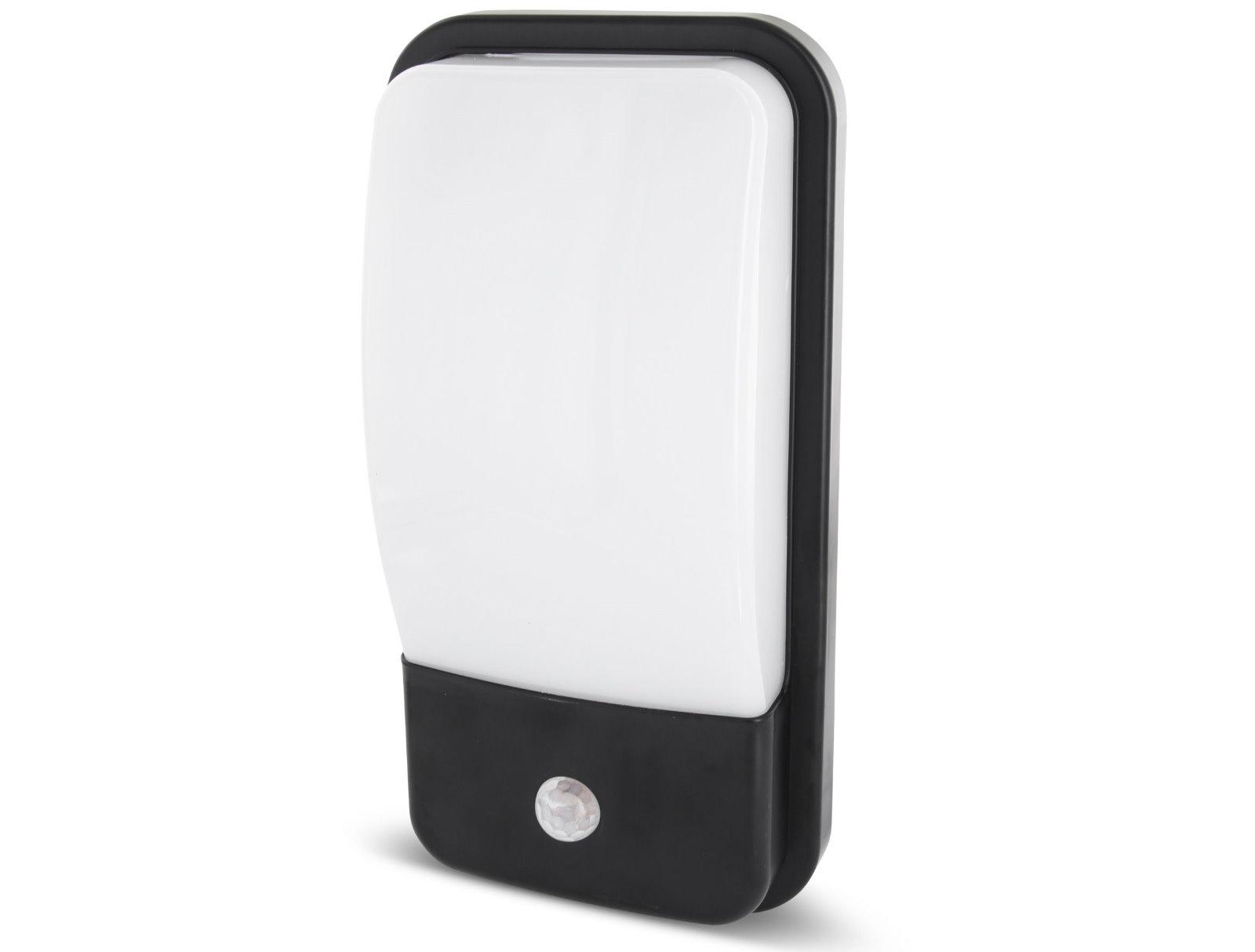 LED Hausnummernleuchte IP65 mit Sensor  - 20W warmweiß