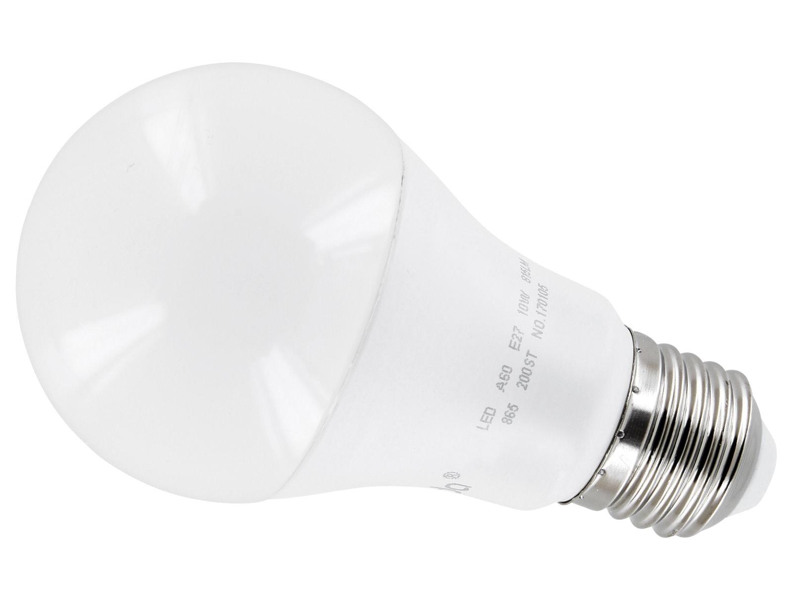 LED Leuchtmittel Birne A60 E27 10W - warmweiß