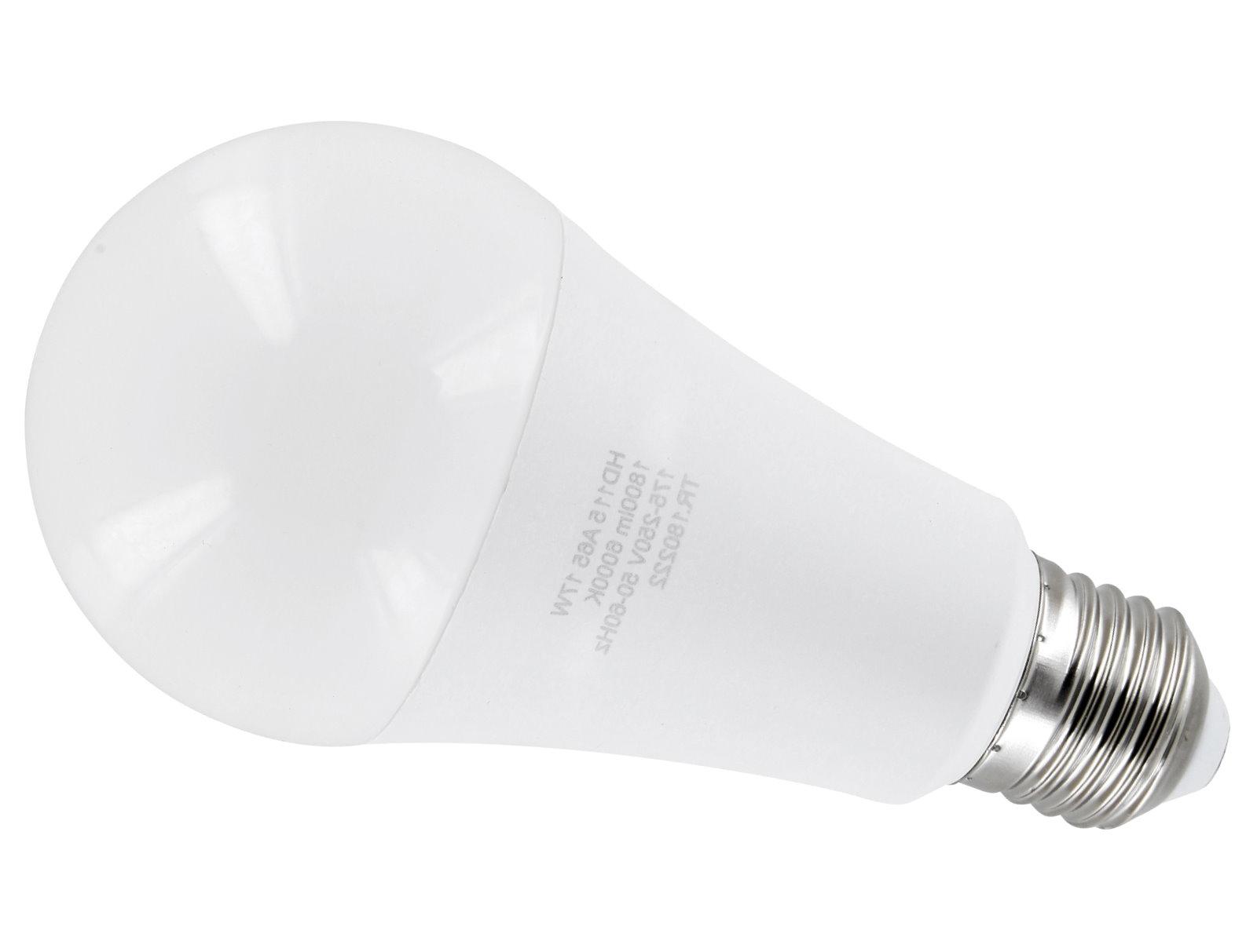 LED Leuchtmittel Birne A65 E27 17W - kaltweiß