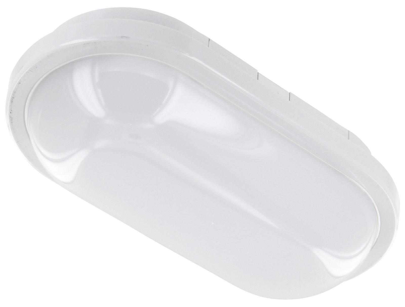LED Deckenleuchte 15W IP65 warmweiß - oval