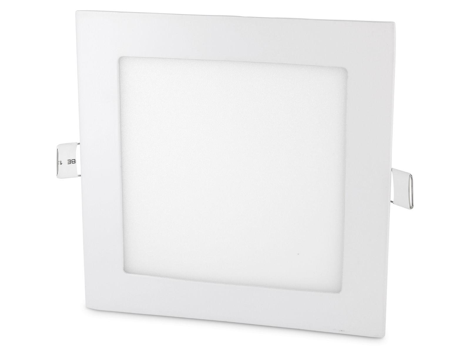 LED Slim Aluminium Einbaustrahler - 12W eckig