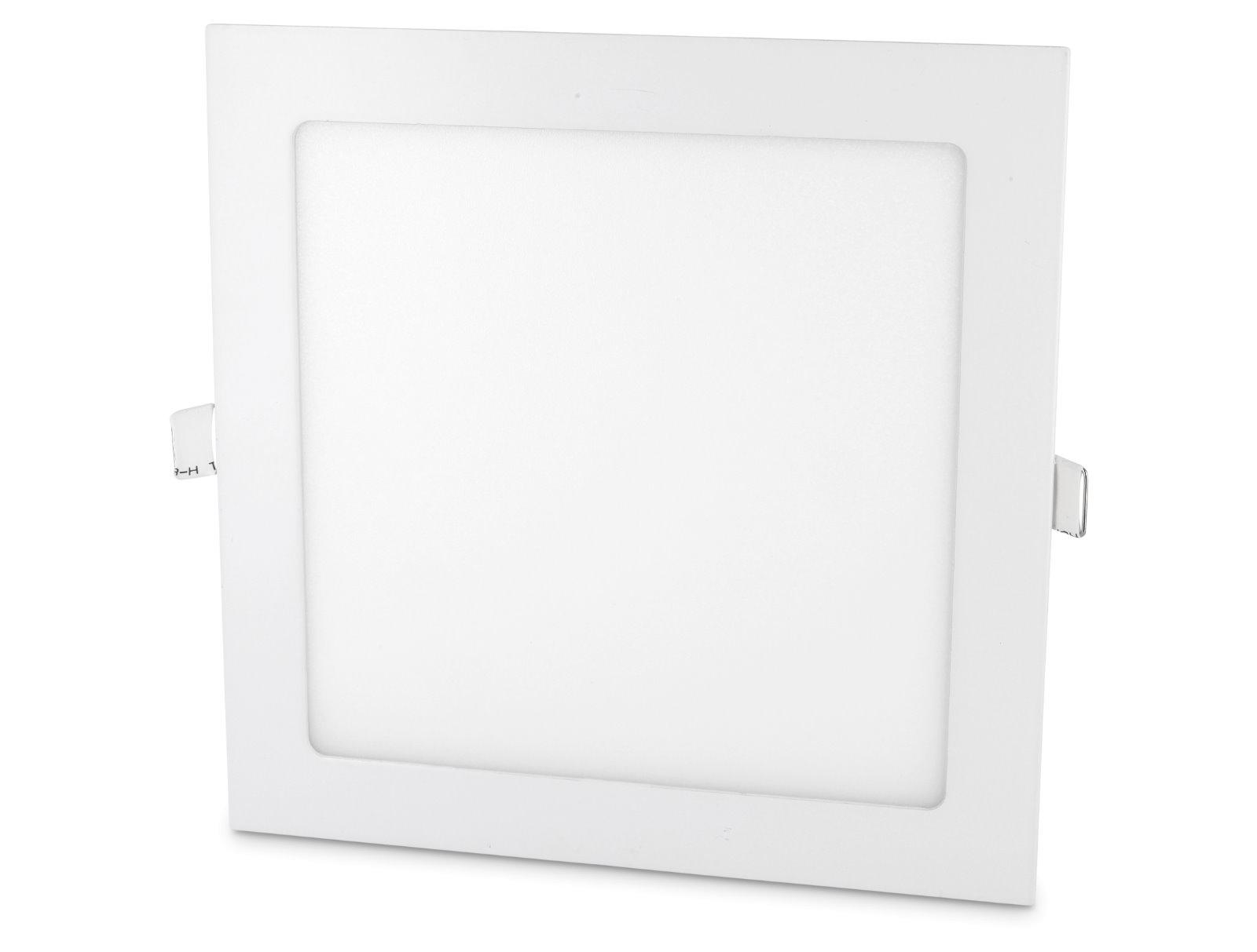 LED Slim Aluminium Einbaustrahler - 18W eckig