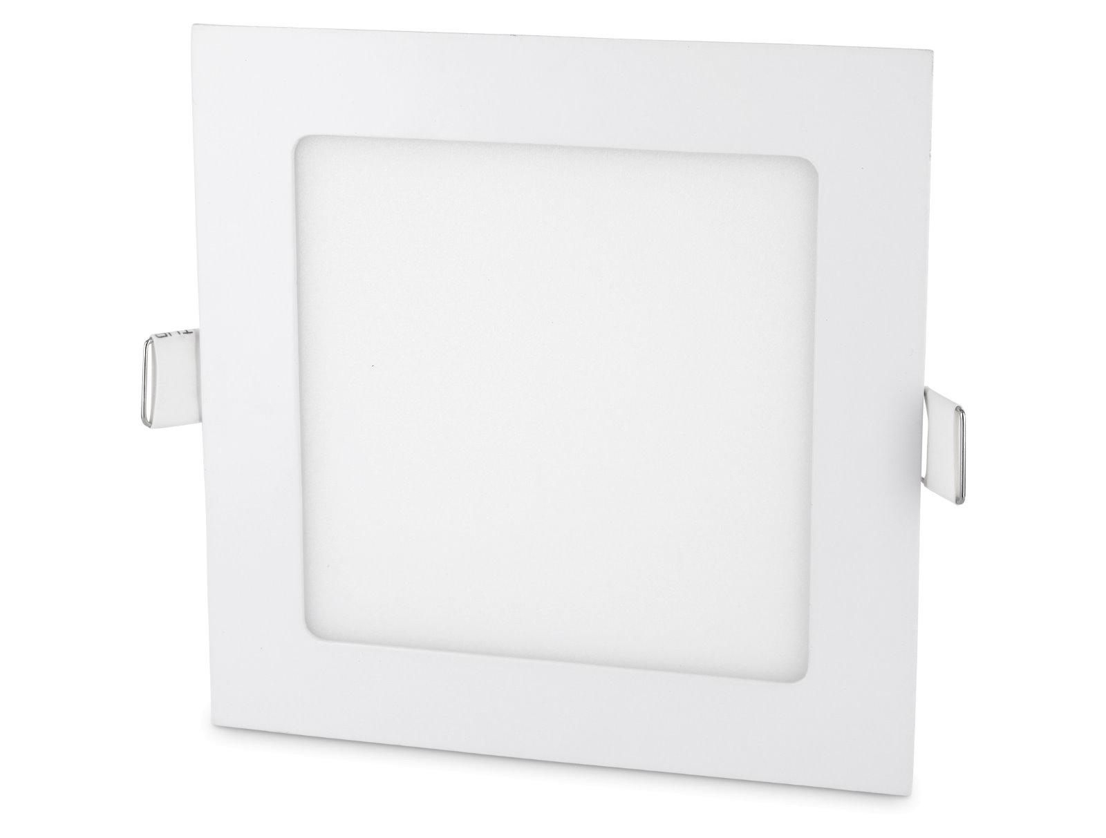 LED Slim Aluminium Einbaustrahler - 9W eckig