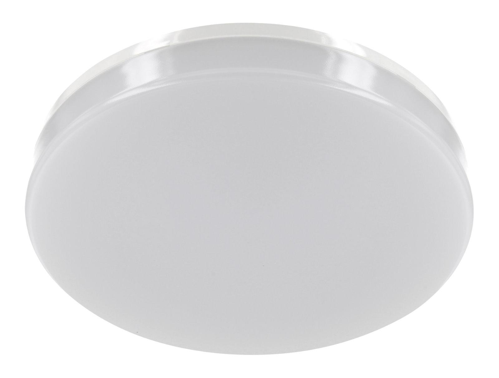 Ultraslim LED Aufbau Panel IP44 230V - Rund 15W tagesweiß