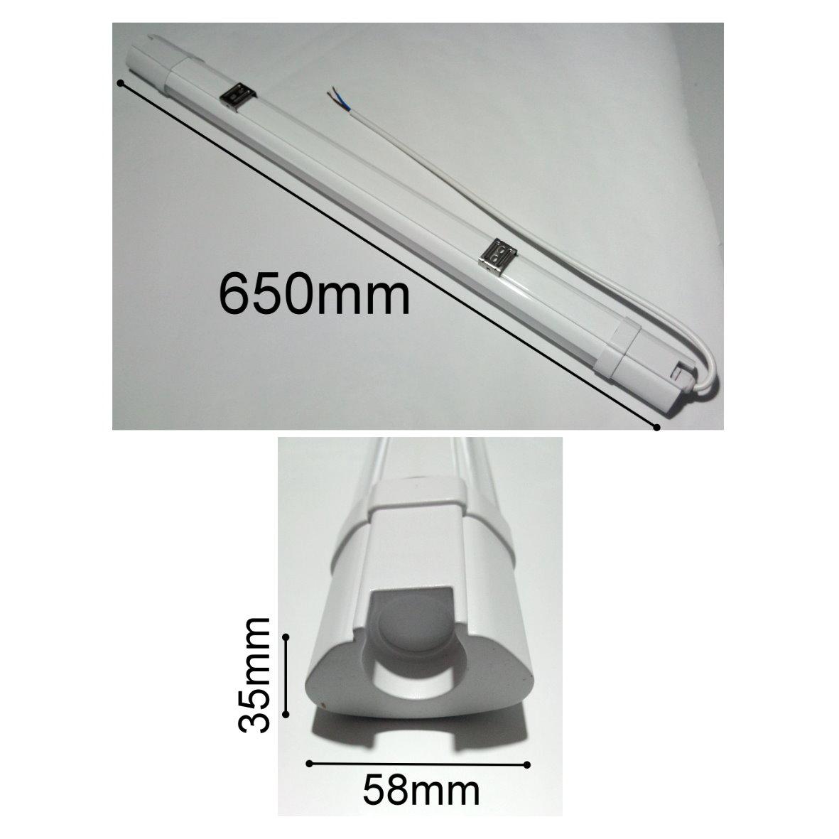 Led 18w Ip65 Slim Feuchtraum Wannenleuchte 230v Lichtleiste