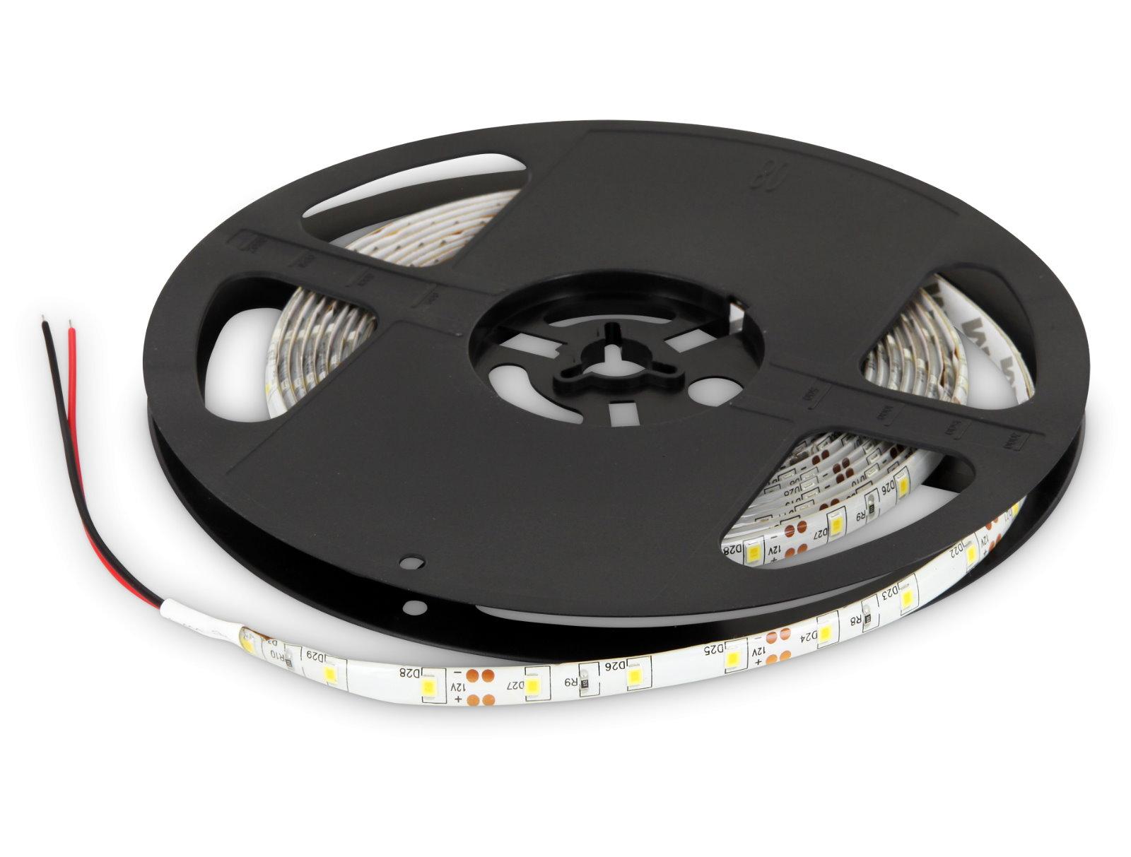 LED Stripe 5m 12V dimmbar IP65 - 24W 300x3528 tagesweiß