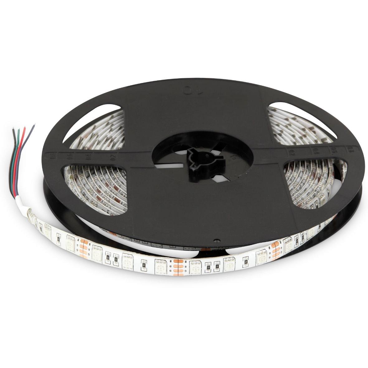 4 98 eur m led rgb lichtband 5m 72w ip65 dimmbar aussen strip 300x 5050 chip ebay. Black Bedroom Furniture Sets. Home Design Ideas