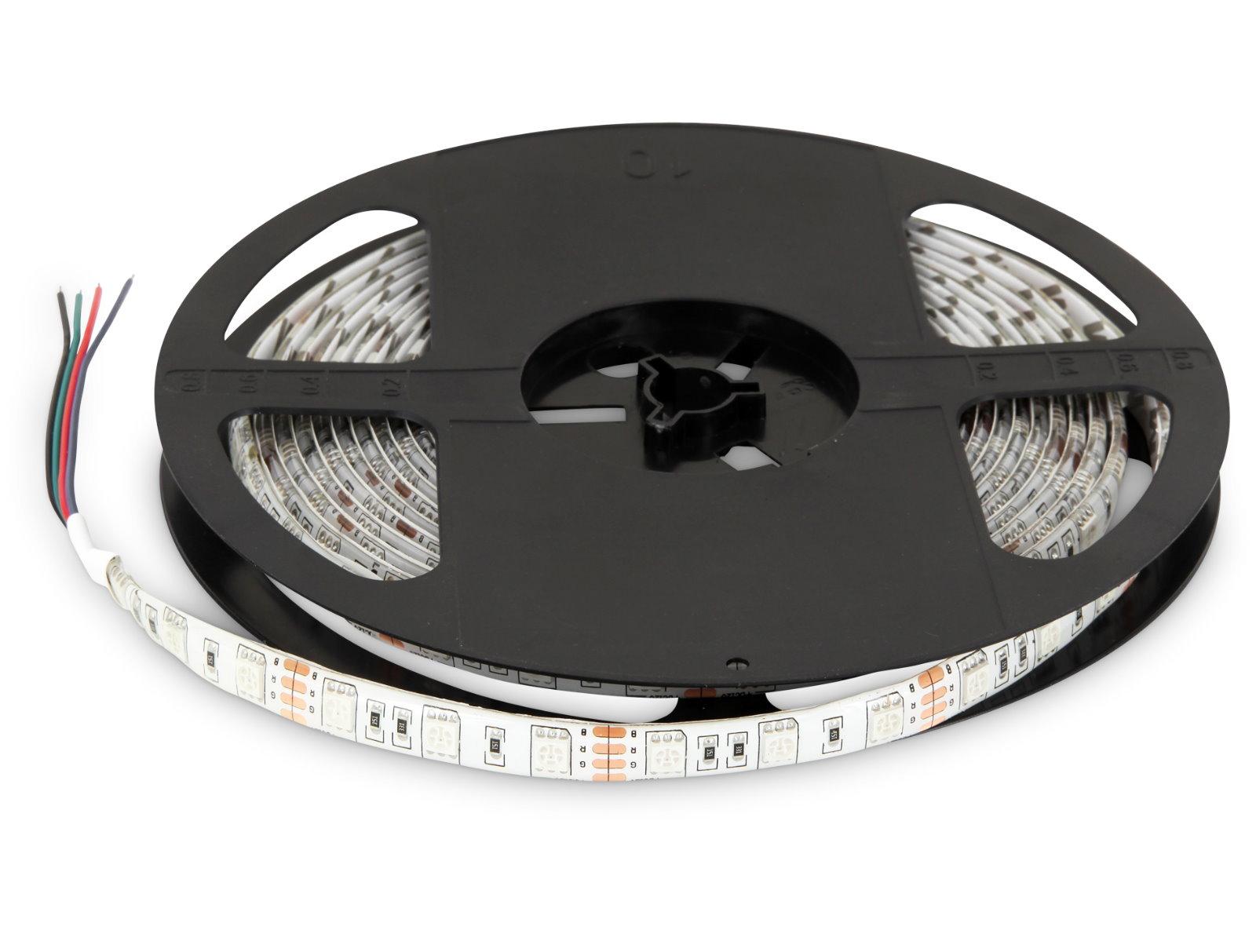 RGB Stripe 5m 12V dimmbar IP65 - 72W 300x5050