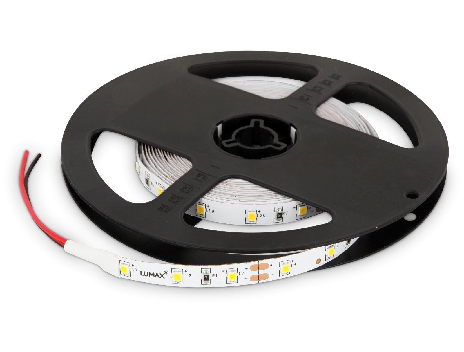 LED Stripe 5m 12V dimmbar - 24W 300x3528 tagesweiß
